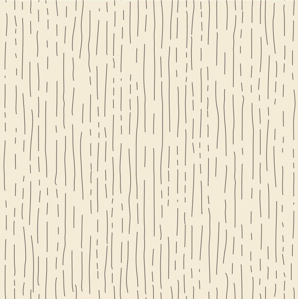 tree texture. wooden seamless pattern. wood grain textured effect. hand drawn dense lines. - wood texture stock illustrations