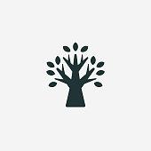 istock Tree vector icon 1201576239