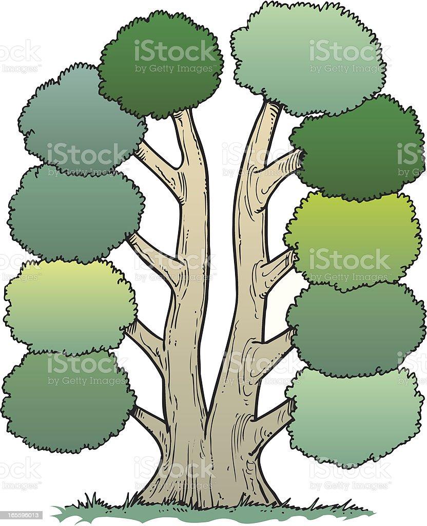 Árbol ilustración de Árbol y más banco de imágenes de boscaje libre de derechos