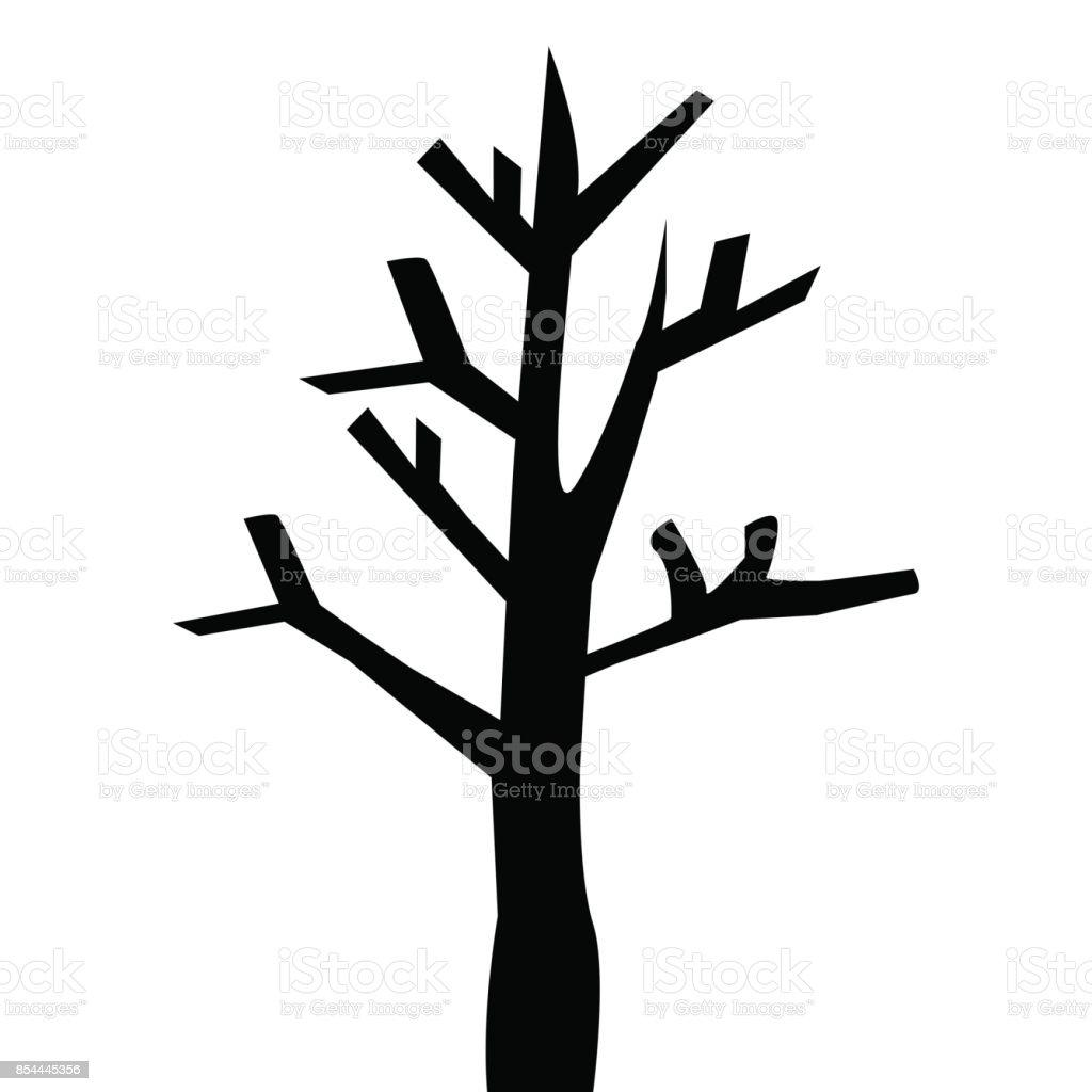 Ilustración De árbol Sin Hojas Y Más Banco De Imágenes De Aire Libre