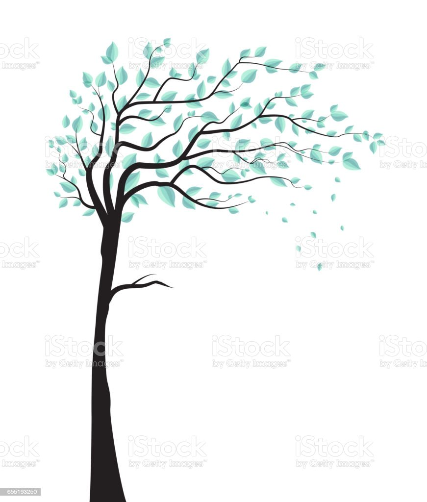 treeee vector art illustration