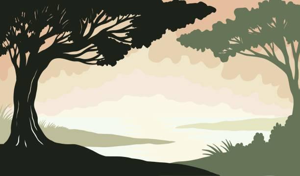 Royalty Free Shade Tree Clip Art, Vector Images ...