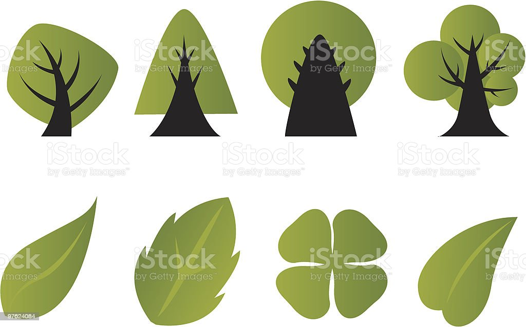 Trees royalty-free trees stock vector art & more images of animals in the wild