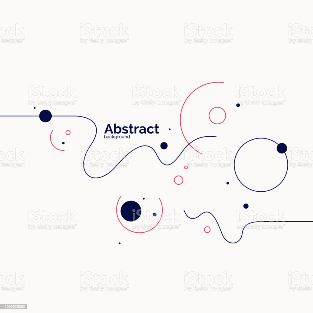 Trendy abstract background. Composition of amorphous forms royalty-free trendy abstract background composition of amorphous forms stock illustration - download image now