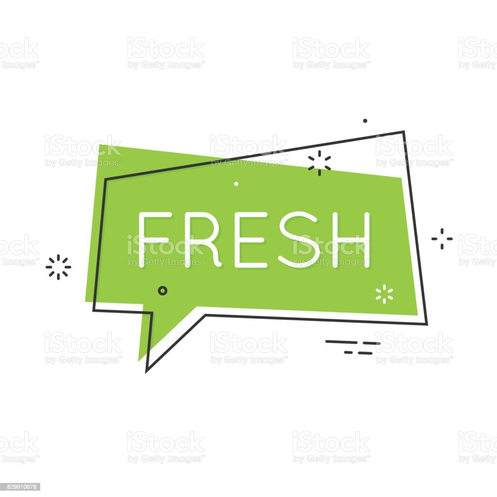Trendy flat geometric speech bubbles. Retro hipsters poster vector art illustration