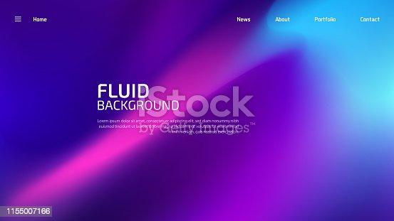 istock Trendy fluid background 1155007166