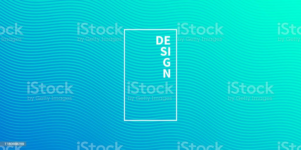 Trendy geometric design - Blue abstract background - Royalty-free Abstract stock vector