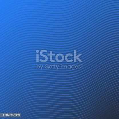 877787978istockphoto Trendy geometric design - Blue abstract background 1187327089