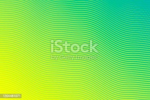 istock Trendy geometric design - Green abstract background 1204481071