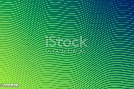 istock Trendy geometric design - Green abstract background 1303522892
