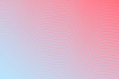 istock Trendy geometric design - Red abstract background 1295747188