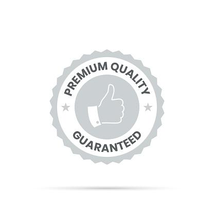 Trendy Gray Badge - Premium Quality, Guaranteed