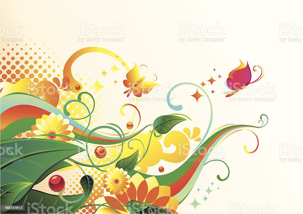 Trendy nature corner royalty-free trendy nature corner stock vector art & more images of abstract