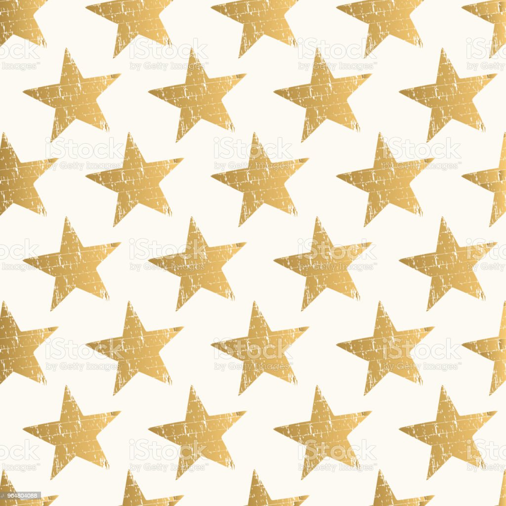 Trendy pattern with golden stars. Vector. Isolated. royalty-free trendy pattern with golden stars vector isolated stock vector art & more images of abstract