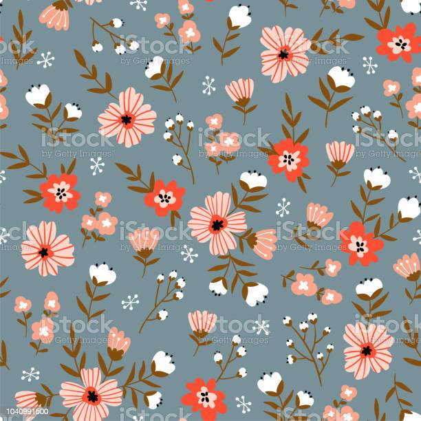 Trendy seamless floral pattern fabric design with simple flowers vector id1040991500?b=1&k=6&m=1040991500&s=612x612&h=hbfkgwtscb9qr w2isa52xmwvwxo3d5gkcshgl6lp74=