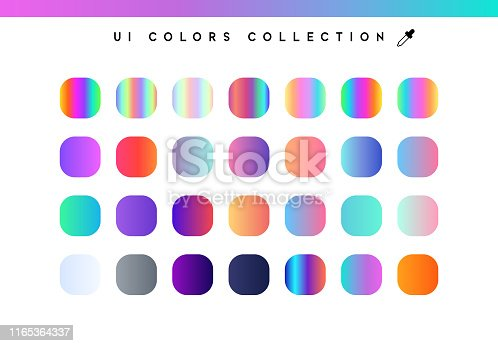 Trendy soft color gradients background. Modern colorful shade.