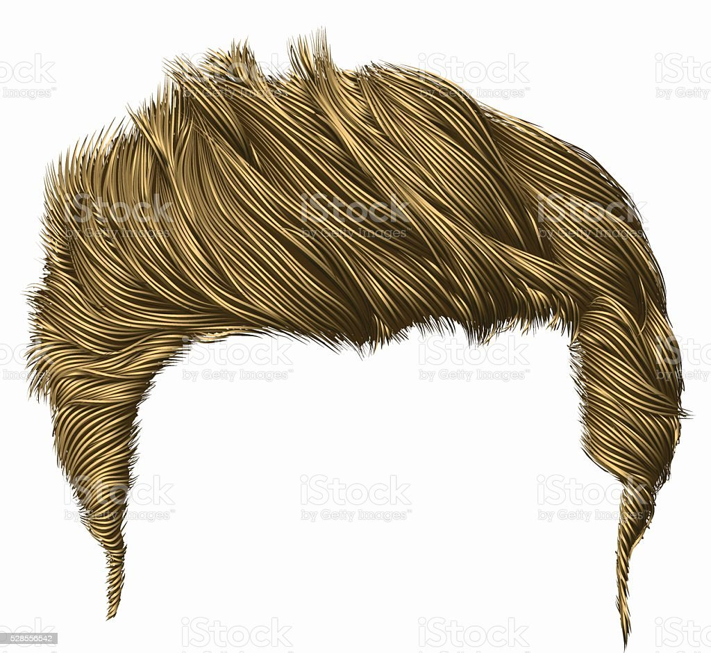 Royalty Free Wig Clip Art, Vector Images & Illustrations ... Men Hair Clipart