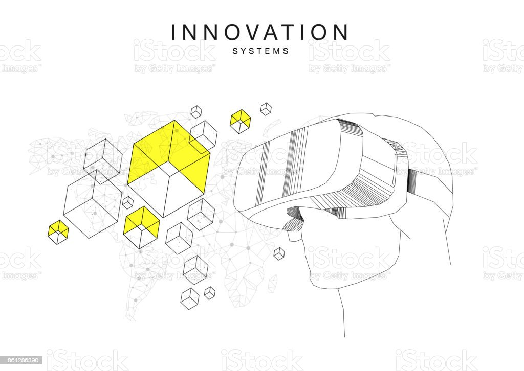 Trendy technics Innovation systems royalty-free trendy technics innovation systems stock vector art & more images of artificial
