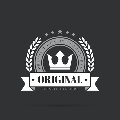 Trendy White Badge - Original, Premium Quality Guaranteed