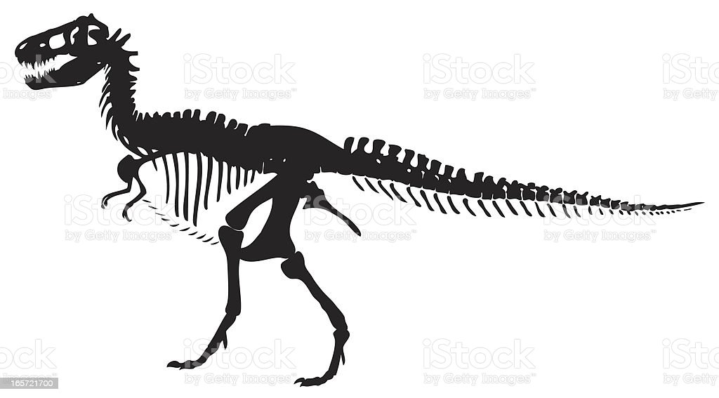 trex silhouette vector stock vector art  u0026 more images of animal 165721700
