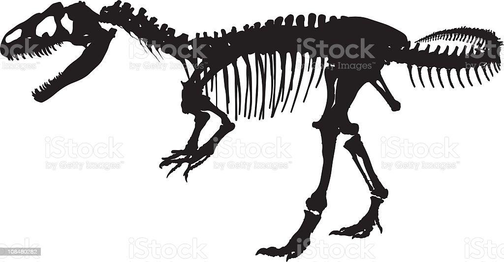 T-Rex royalty-free stock vector art