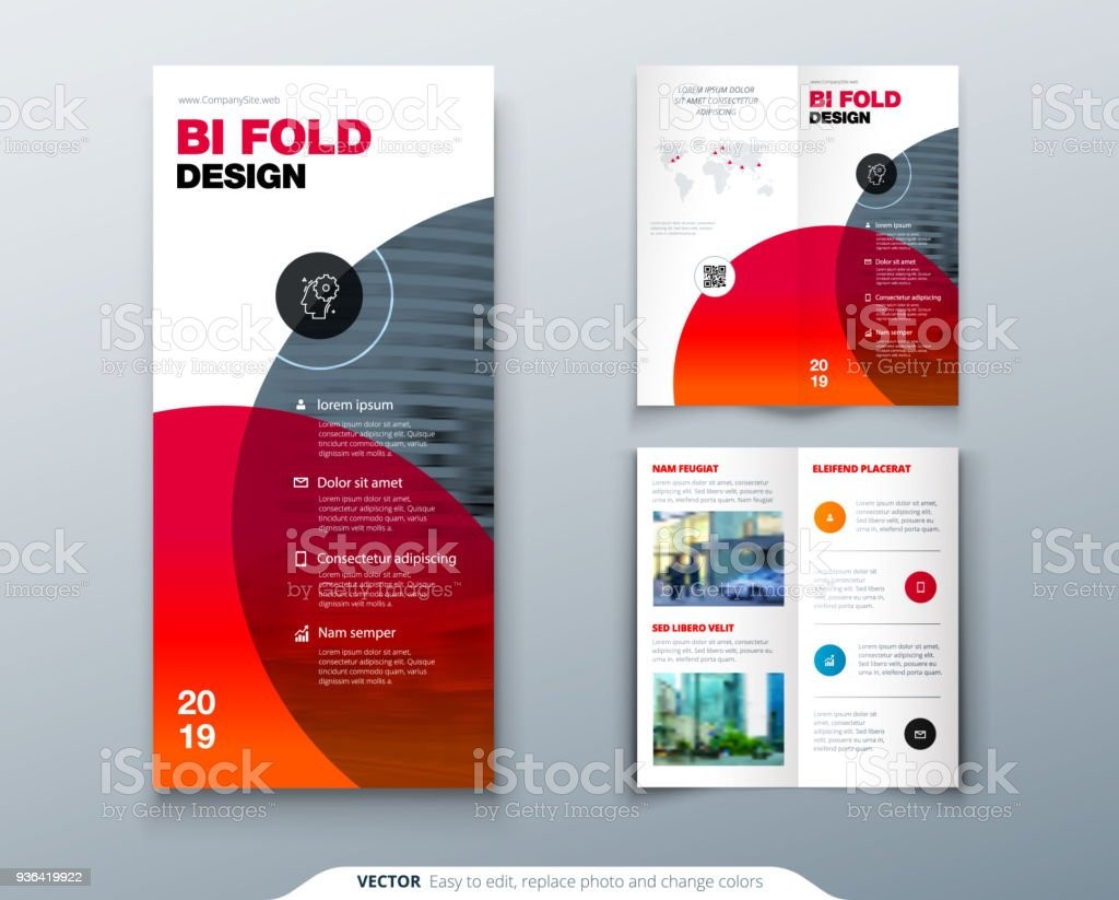tri fold brochure design business template for tri fold flyer layout