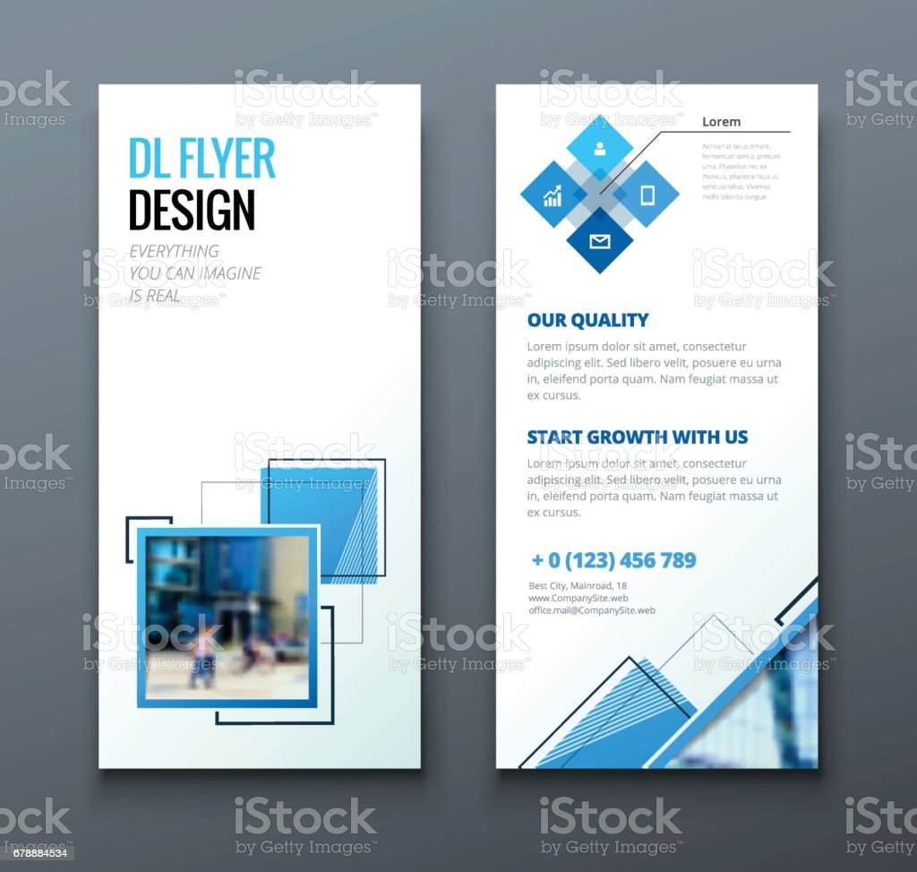 tri fold brochure design corporate business template for tri fold