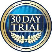 Trial Period Label