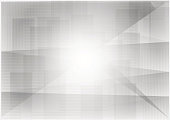 Triangle and straight line gray geometric abstract background vector