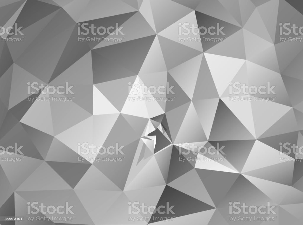 Triangle background. Gray polygons. royalty-free stock vector art