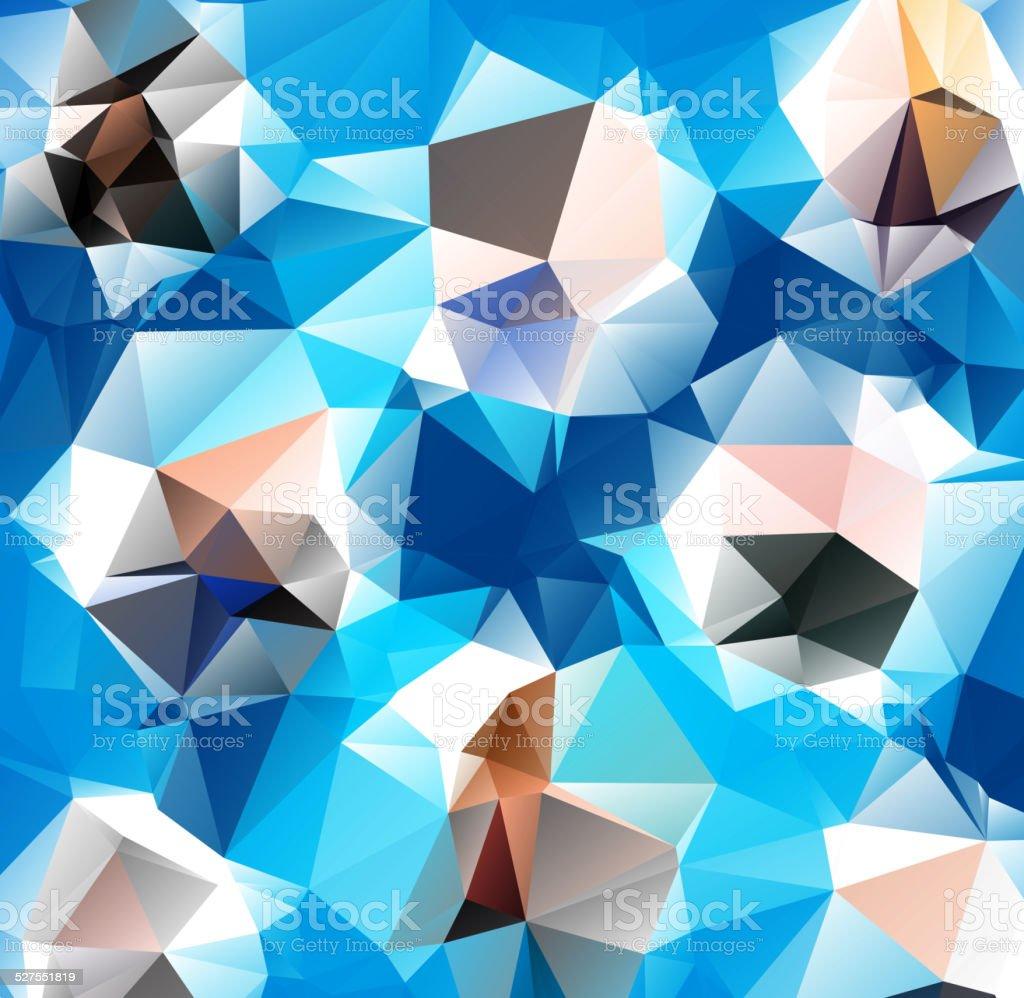 トライアングルの背景模様を幾何学形状 のイラスト素材 527551819 | istock