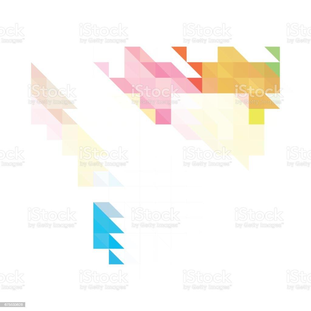 Triangle background triangle background – cliparts vectoriels et plus d'images de abstrait libre de droits