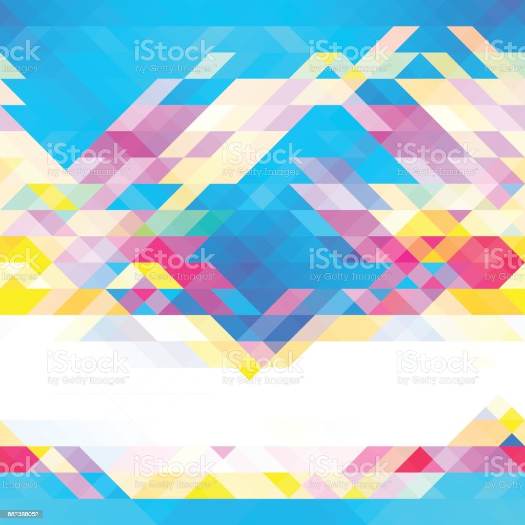 Triangle background triangle background - immagini vettoriali stock e altre immagini di astratto royalty-free