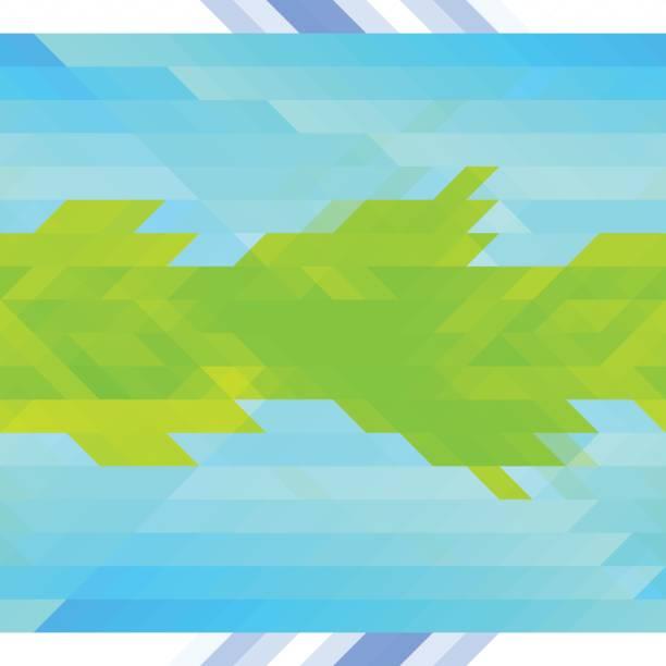 Triangle background vector art illustration