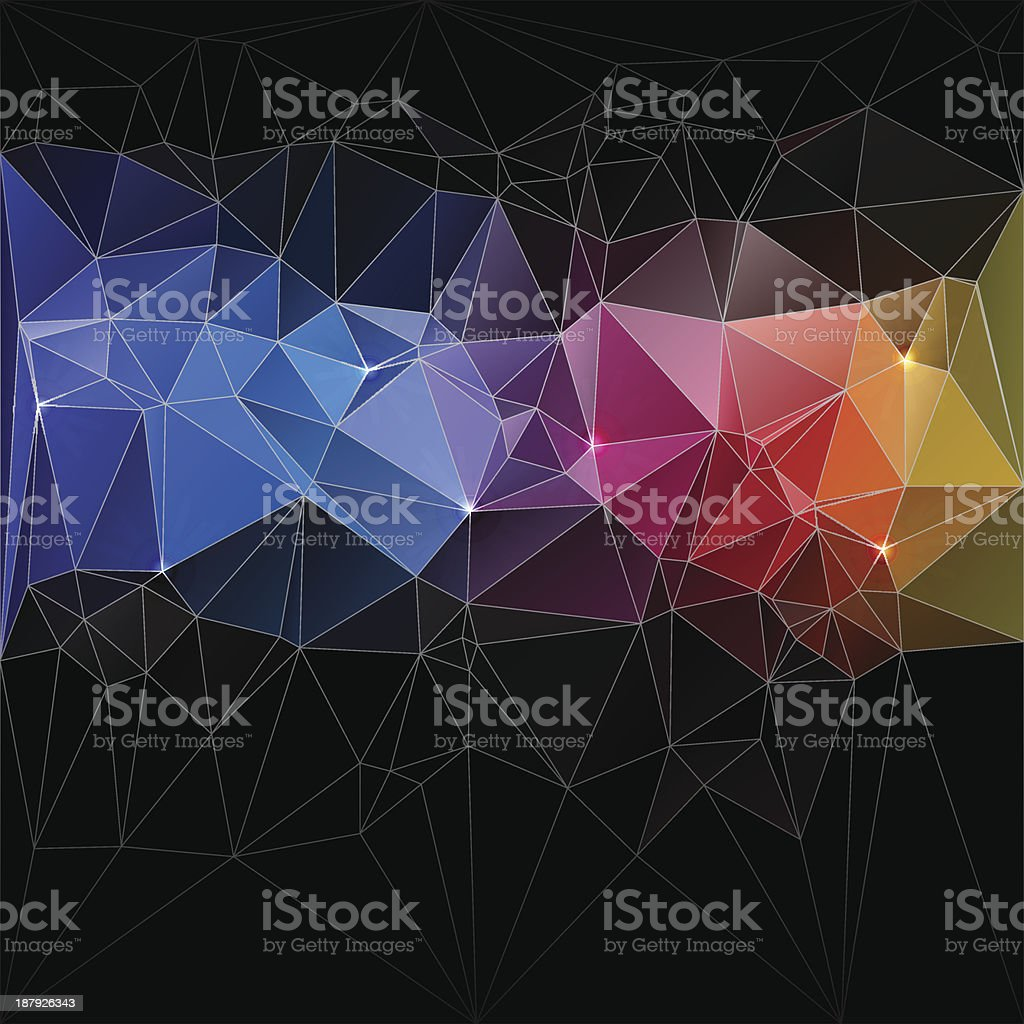 Triangle concept design Mosaic vector illustration royalty-free triangle concept design mosaic vector illustration stock vector art & more images of abstract