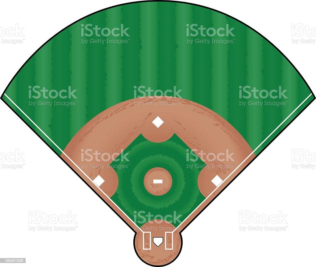 royalty free baseball field clip art vector images illustrations rh istockphoto com baseball field clip art free baseball diamond pictures clip art