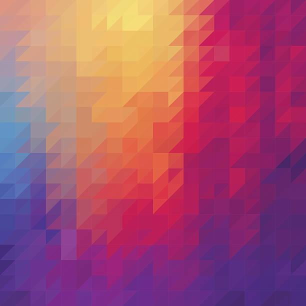 ilustraciones, imágenes clip art, dibujos animados e iconos de stock de fondo abstracto triángulo de diamante - fondos mosaicos