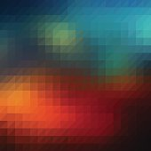 Retro triangle abstract background. JPG and Aics3 files are included.
