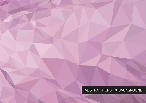 Triangle geometrical background. Vector