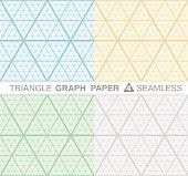 Triangle Graph Paper.