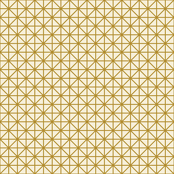 triangle grid background gold colored grid background of triangles. can be tiled seamlessly. right angle stock illustrations