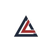 istock Triangle icon vector illustration 1218411288