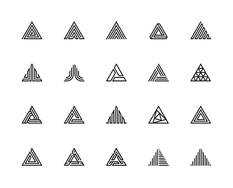 Triangle Icons