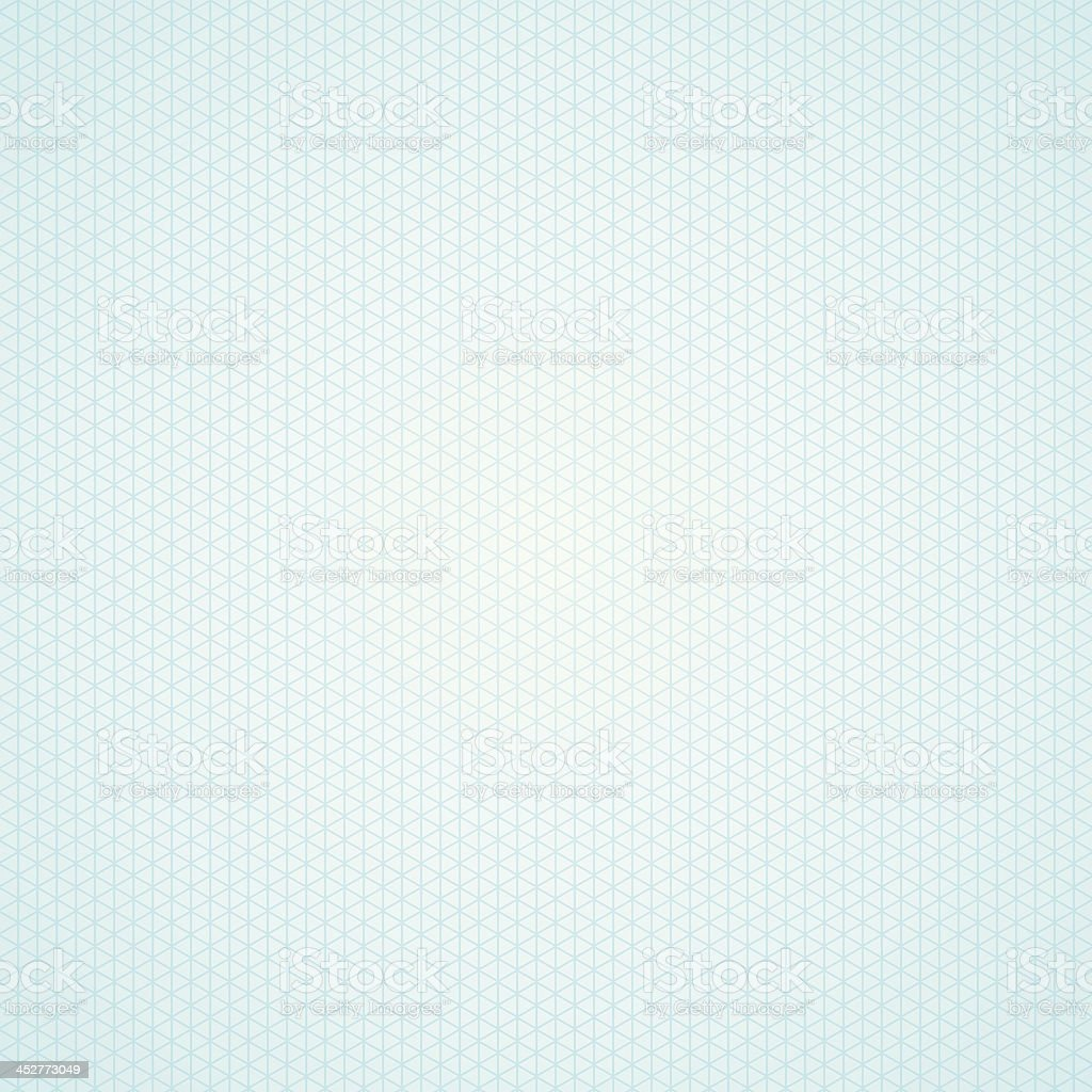 Triangle light blue graph paper background vector art illustration