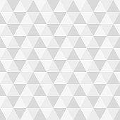 Triangle seamless background. Modern triangular geometric pattern. Polygon texture. Vector illustration.