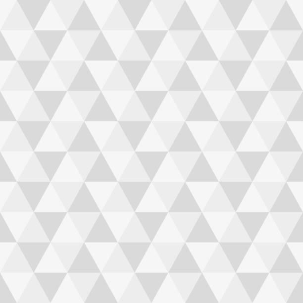 Triangle seamless background. Modern triangular geometric pattern. Polygon texture. Vector illustration. Triangle seamless background. Modern triangular geometric pattern. Polygon texture. Vector illustration. triangle shape stock illustrations