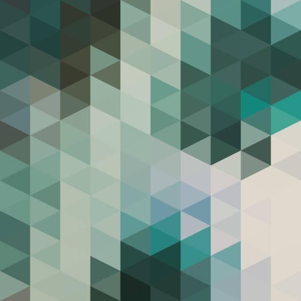 Dreiecke-Hintergrund – Vektorgrafik