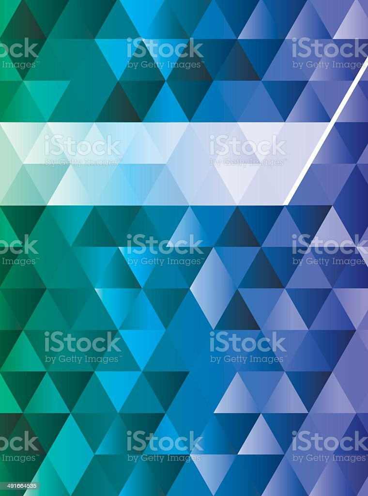 triangles blue background royalty-free triangles blue background stock vector art & more images of abstract