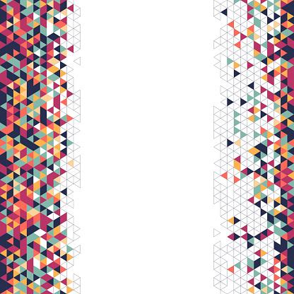 triangles border