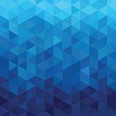 istock triangular abstract background blue ocean 809245334